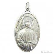聖ファウスティナ・コヴァルスカ キリスト  メダイ ヨーロッパ買付品