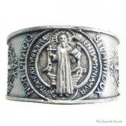 聖ベネディクト メダイ リング 指輪