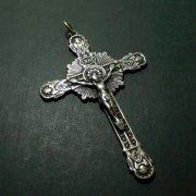 アンティーク  キリスト磔刑 天使 ゴシック 十字架 クロス