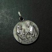 聖ペトロと聖パウロ アンティーク メダイ