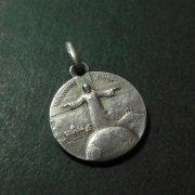 教皇ピウス11世  キリスト アンティーク メダイ