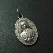 聖ベルナデッタ ルルドの聖母 アンティーク メダイ