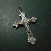 アンティーク  キリスト磔刑 アールヌーボー 十字架 クロス