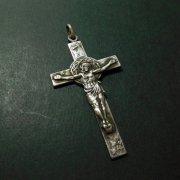 アンティーク  キリスト磔刑 茨の冠  十字架 クロス
