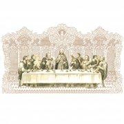 ホーリーカード レース キリスト 最後の晩餐 L イタリア製