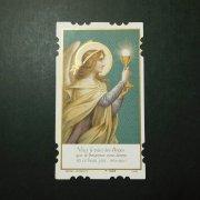 アンティーク ホーリーカード  天使 聖杯