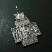 教皇ピウス11世 ローマ サンピエトロ大聖堂 アンティーク メダイ