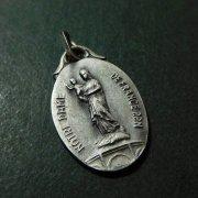 フランスの聖母 ピュイの聖母 アンティーク メダイ オーヴァル