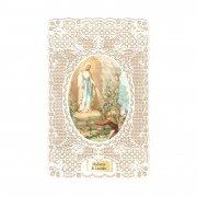 ホーリーカード レース ルルドの聖母 イタリア製