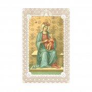 ホーリーカード レース 聖母子 イタリア製