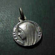 ルルドの聖母マリア  アンティーク シルバー メダイ