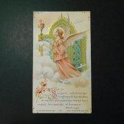 アンティーク ホーリーカード  天使と聖杯と聖霊