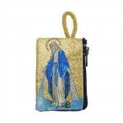 ロザリオ ポーチ 聖母マリア 小物入れ ケース
