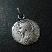聖母 マリア アンティーク メダイ シルバー