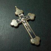 キリスト磔刑 十字架 髑髏 クロス アンティーク