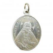 イエスキリストとカルメル山の聖母 アルミ ヴィンテージ