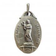 フランスの聖母 ピュイの聖母 アンティーク メダイ デッドストック