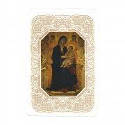 ホーリーカード レース 聖母子 天使 イコン イタリア製