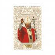 ホーリーカード レース ローマ教皇ヨハネ・パウロ2世 イタリア製