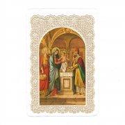 ホーリーカード レース イエス・キリストの神殿奉献 イタリア製