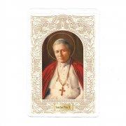 ホーリーカード レース 教皇ピウス10世 イタリア製