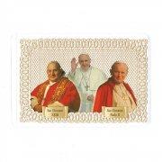 ホーリーカード レース 教皇ヨハネ23世 教皇フランシスコ 教皇ヨハネ・パウロ2世 イタリア製