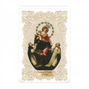 ホーリーカード レース 至聖なるロザリオの聖母 イタリア製