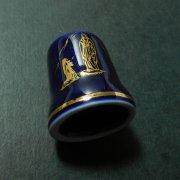 ルルドの聖母 指ぬき ヴィンテージ ネイビー