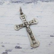 十字架 クロス シルバー  ヴィンテージデッドストック