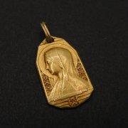 聖母マリア メダイ  アンティーク