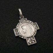 クロス型 ルルドの聖母 メダイ  ヴィンテージ