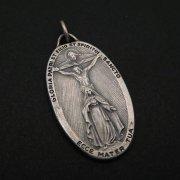 三位一体と聖母マリア 聖杯 メダイ  ヴィンテージ