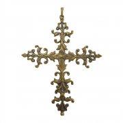 ヨーロピアン 十字架  クロス ペンダント  ブロンズ