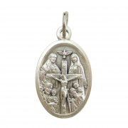 聖人 メダイ 1 ◆ イエスキリスト 聖母マリア 聖ヨセフ 聖クリストファー 聖霊