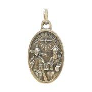 三位一体 メダイ ◆ 神 キリスト 聖霊 イタリア製