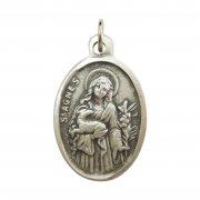 聖アグネス メダイ 1 ◆ 婚約したカップル・純潔性の守護聖人