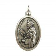 聖ドミニコ メダイ ◆ 天文学・嘲笑される人々の守護聖人 イタリア製