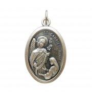 大天使ガブリエル メダイ 聖母 受胎告知 ◆ 妊娠出産・伝達の守護天使 イタリア製