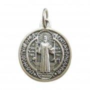 聖ベネディクト  メダイ ◆ 毒・腎臓病・胆石・誘惑の守護聖人 イタリア製