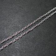 チェーンネックレス 45cm 0.93mm(シルバー925) アジャスタータイプ