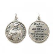 聖ペレグリン ◇ 祈り メダイ ◆ 癌・病気の守護聖人 イタリア製
