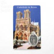 微笑みの天使 メダイ ホーリー カード メダル  パリの教会・大聖堂・寺院の直買い付け品
