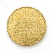 ランスのノートルダム大聖堂 記念メダル フランス メダリオン