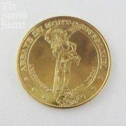 大天使聖ミカエルの記念メダル モン・サン・ミッシェル 直買い付け品