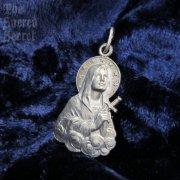 1553 悲しみの聖母マリア ヴィンテージメダイ