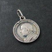 1601 教皇ピウス11世とキリストの磔刑 ヴィンテージメダイ