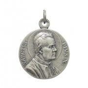 教皇ピウス10世 & 絶えざる御助けの聖母 メダイ ドイツ製