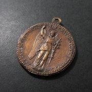 大天使聖ガブリエルと聖マルコのメダイ