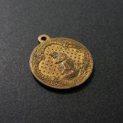 1705 ラ・サレットの聖母のアンティークメダイ