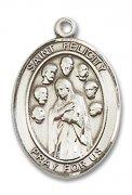 ローマの聖フェリチタス メダイ L/M/S ペンダント スターリングシルバー製 【受注発注】
